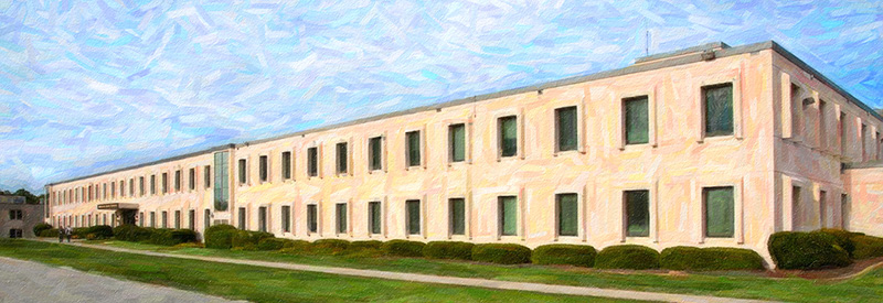 Artist rendering of the Savannah River National Laboratory offices